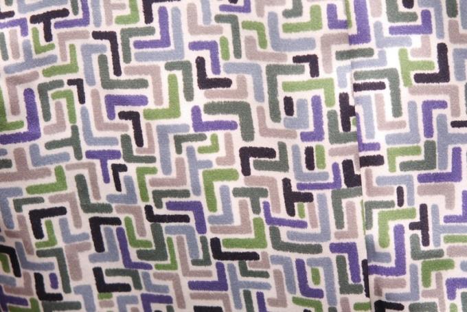 ミナペルホネンのベスト[Land Puzzle]裏地